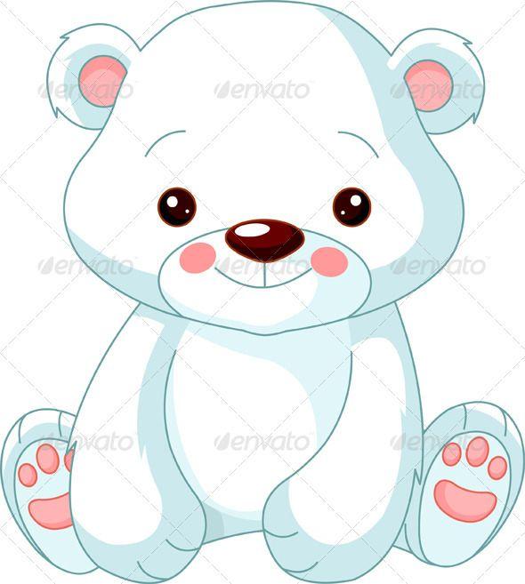 Fun zoo. Polar Bear.