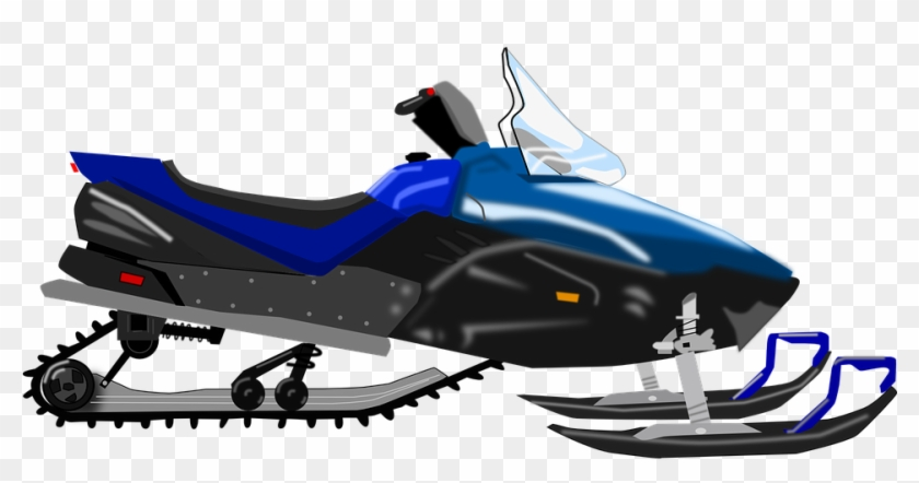 Snowmobile Clipart, HD Png Download.