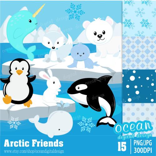 Arctic Clipart.