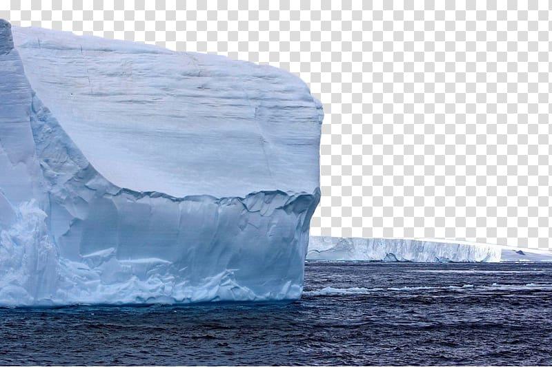 Antarctic Sound Iceberg Arctic Ocean, White iceberg.