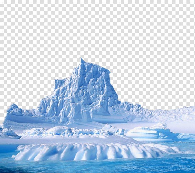 Iceberg Arctic Ocean Polar ice cap, Sea iceberg transparent.