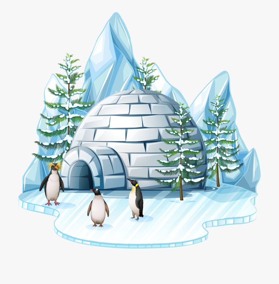 Igloo Clipart Arctic Region.