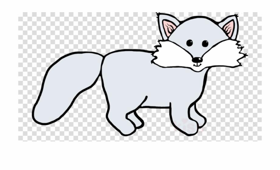Free Black And White Fox Clip Art, Download Free Clip Art.