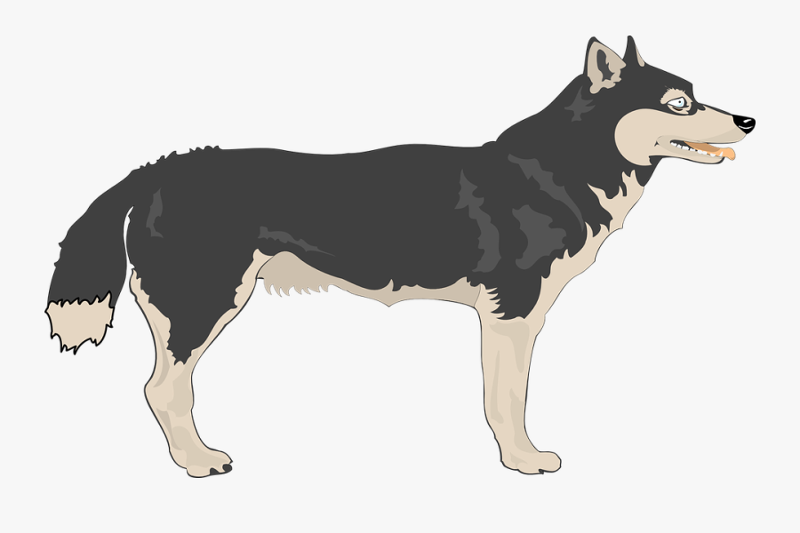 Transparent Wolf Clipart Free.