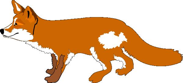 Orange Fox Clipart.