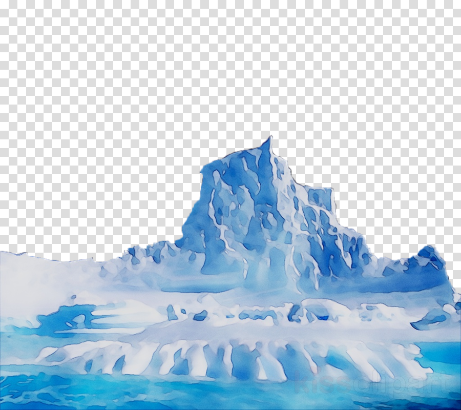 Iceberg Cartoon clipart.