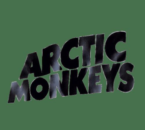 Arctic Monkeys Logo transparent PNG.