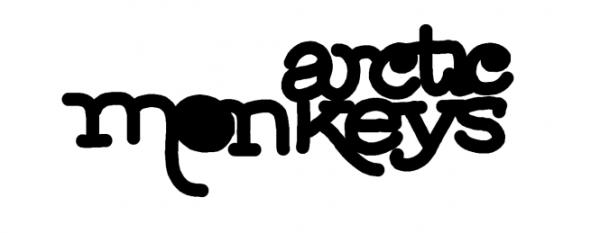 Arctic Monkeys Logo Font.
