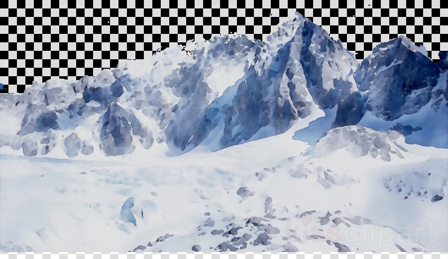 Winter Landscape clipart.