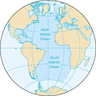 Atlantic ocean clipart.