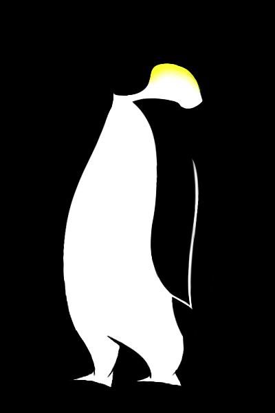 Emperor Penguin Cartoon.