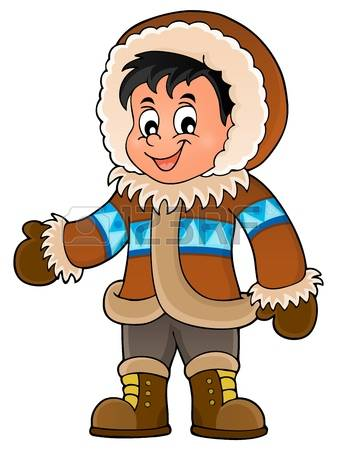 Inuit People Clipart.