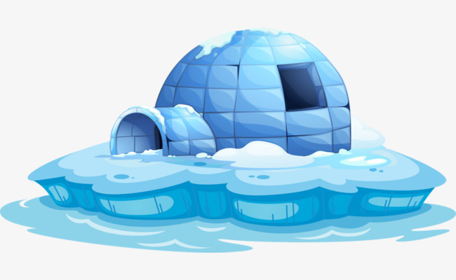 Download Free png Arctic Igloo, Igloo Clipart, Ice, Arctic PNG Image.