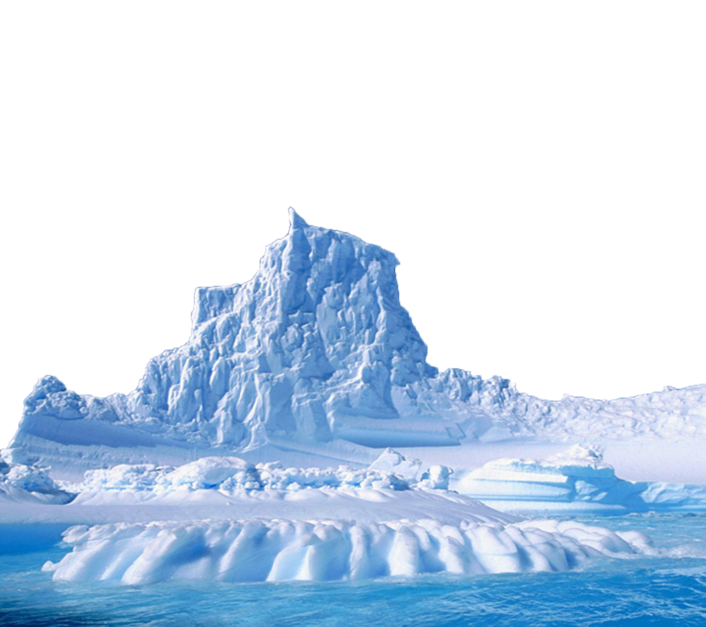Sea ice PNG Images.