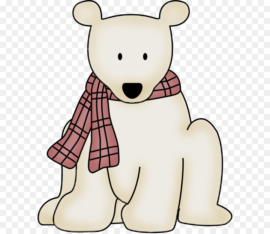 Polar bear Arctic fox Clip art.