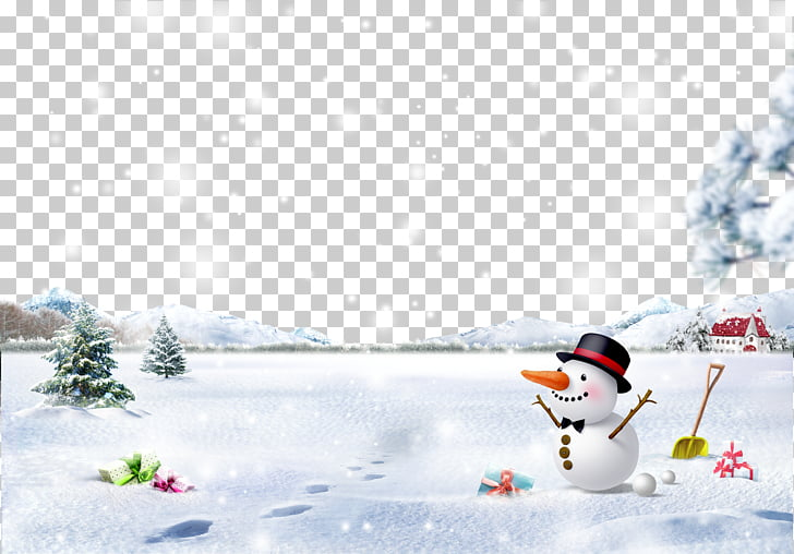 Snowman Christmas Snowflake Winter, Smiling snow Christmas.