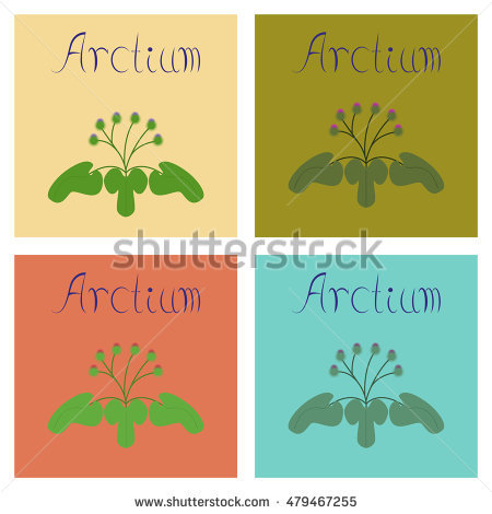 Arctium Stock Photos, Royalty.