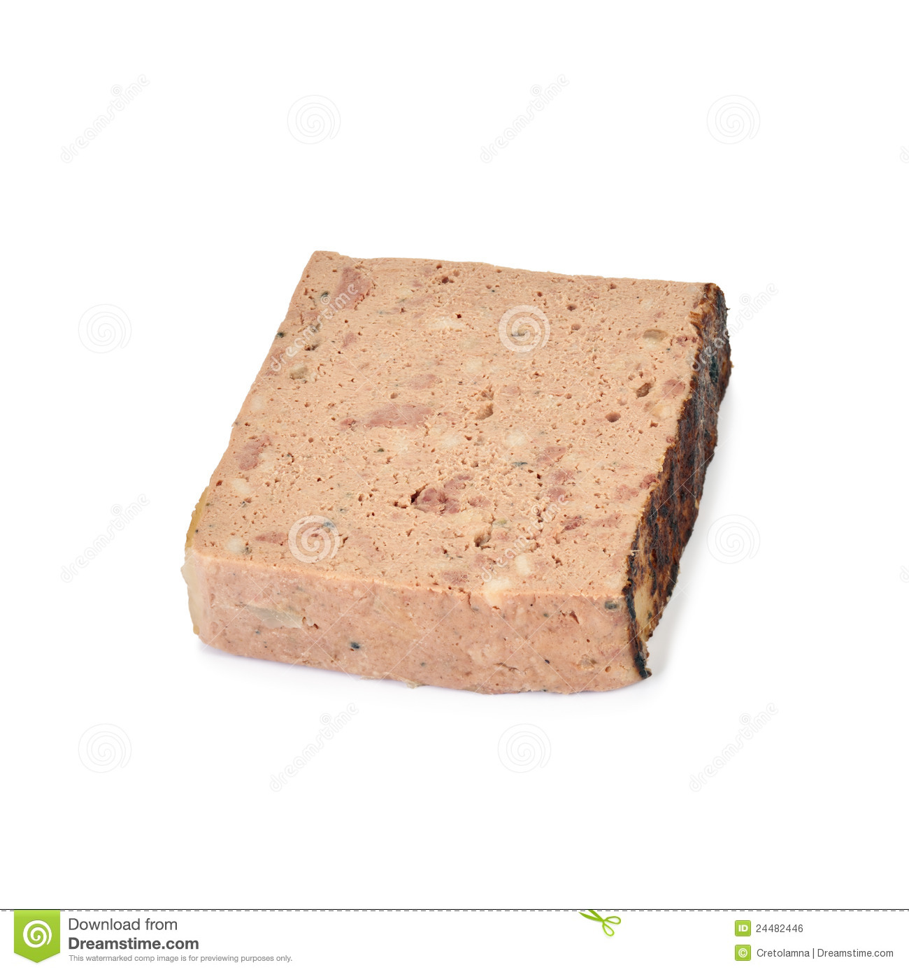 Ardennes Pate. Royalty Free Stock Photos.