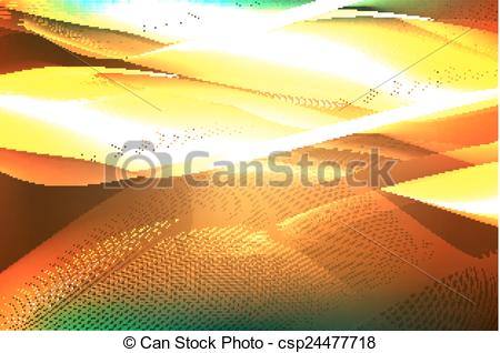 Vector Clip Art of Abstract ardent background. Vector csp24477718.