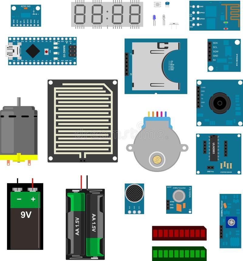 Arduino Stock Illustrations.