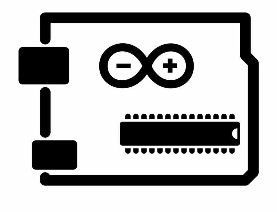 Arduino Vector Black And White Arduino Icon.
