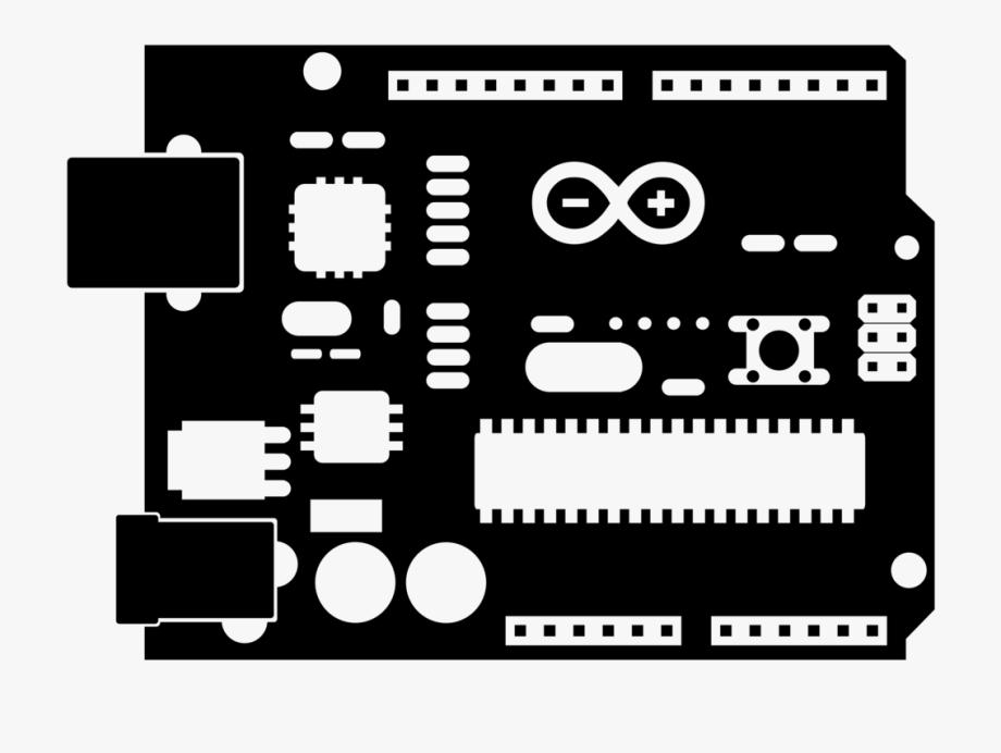 Arduino Uno Microcontroller Electronics Computer Icons.