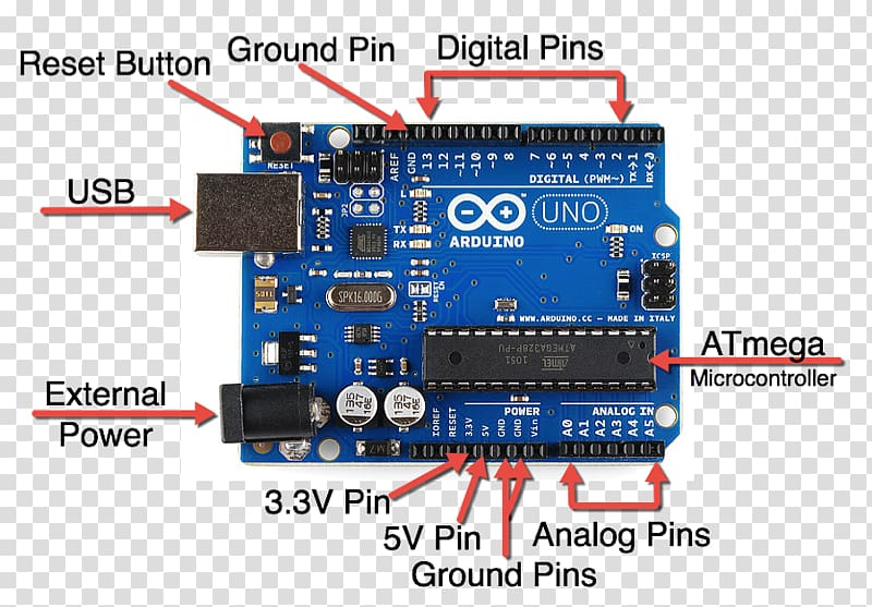 Arduino Uno ATmega328 Single.