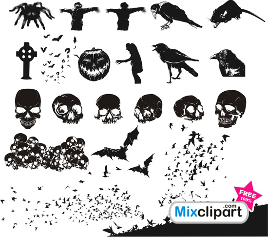 Free Halloween Vector Cliparts, Download Free Clip Art, Free.