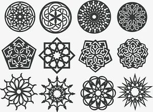 Details about Dxf Files For CNC Router Plasma Cutter DXF CDR Files Vector  Clipart.