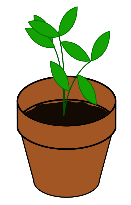 Cartoon Plant Nectar Clipart.