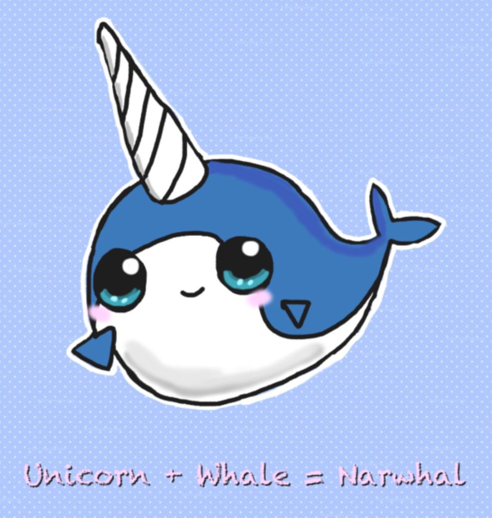 Narwhals are awesome.