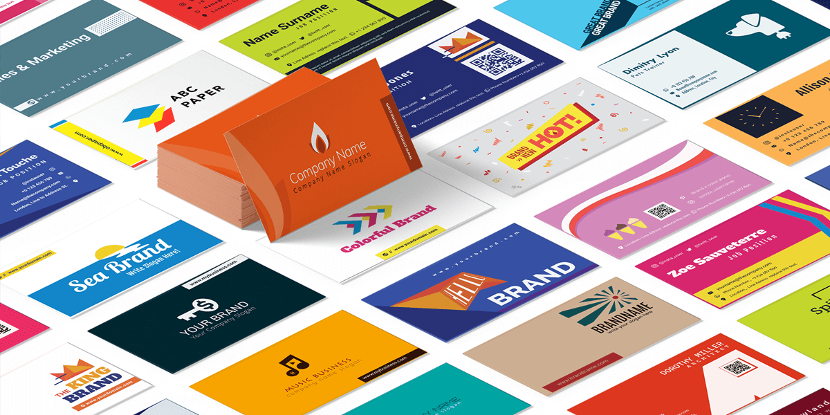 1000 Business Card Templates, Editable Vector Source Files. Extended.