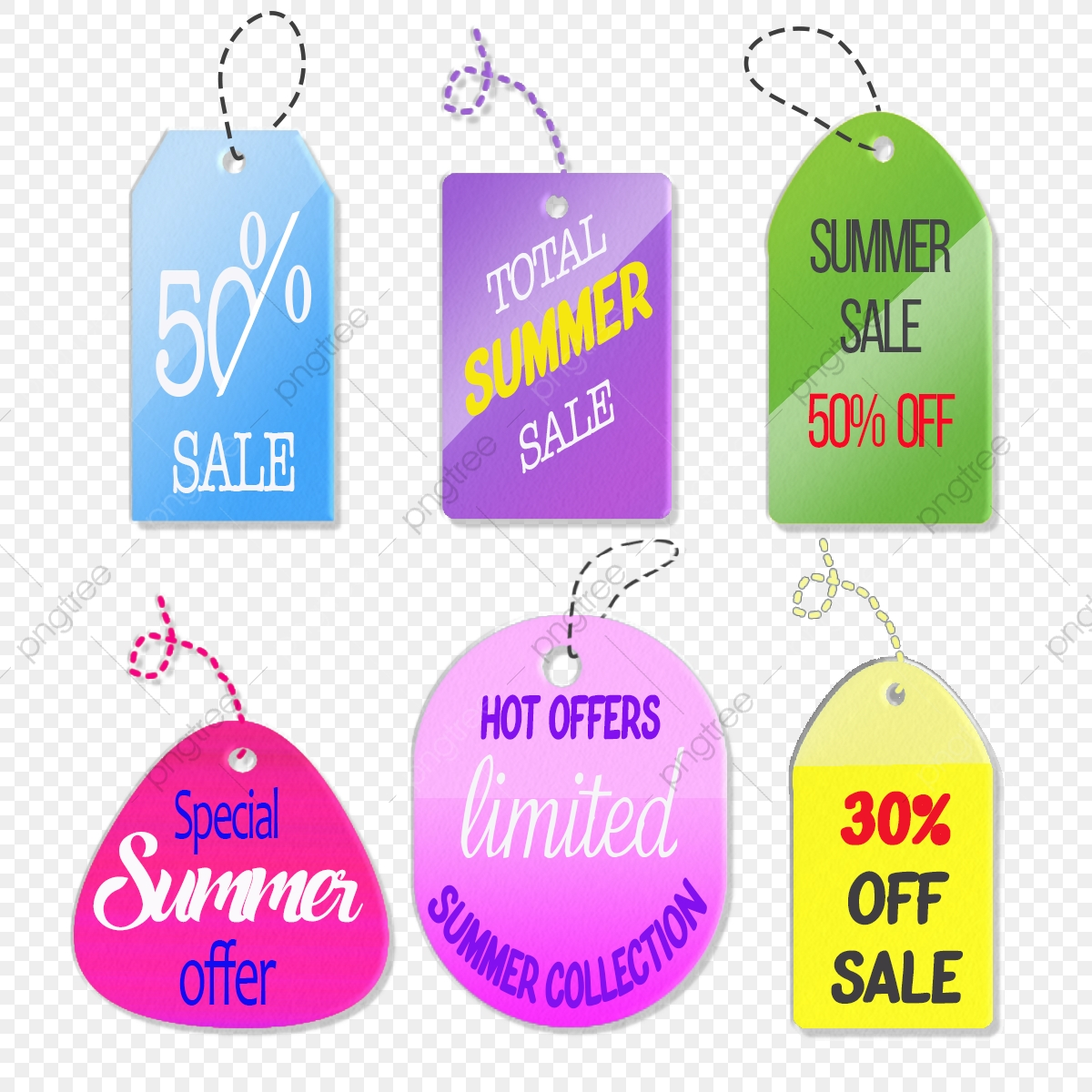 Colorful Editable Price Labels, Label, Price, Off PNG Transparent.