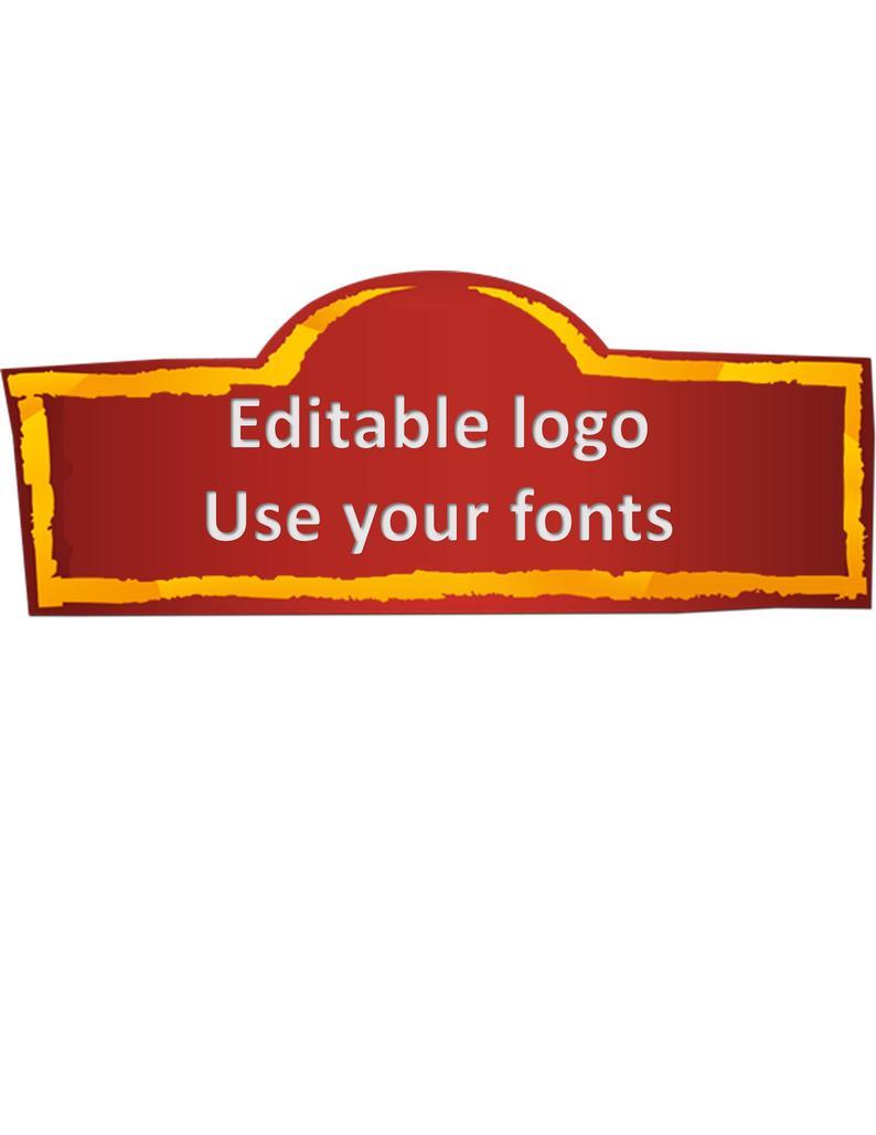 Lion Guard logo png file instant download digital editable personalizable  customizable.