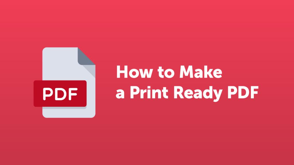 How to Make a print.