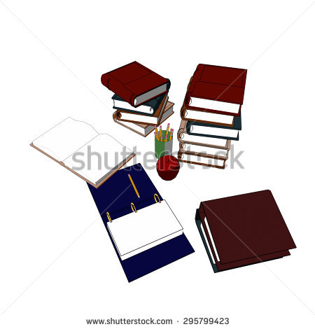 Leather Bound Open Book Banque d'Image Libre de Droit, Photos.