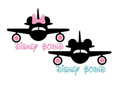 Disney Bound Designs SVG Studio 3 DXF Ps AI by BoodlebugGraphics.
