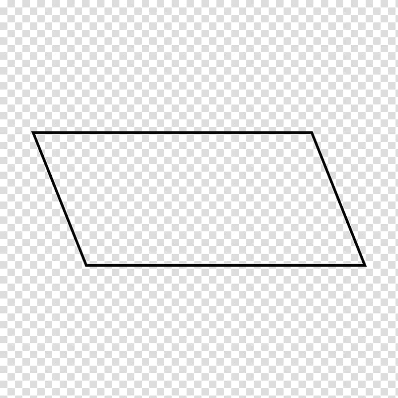 Parallelogram Geometry Area Line Shape, rectangle shape.
