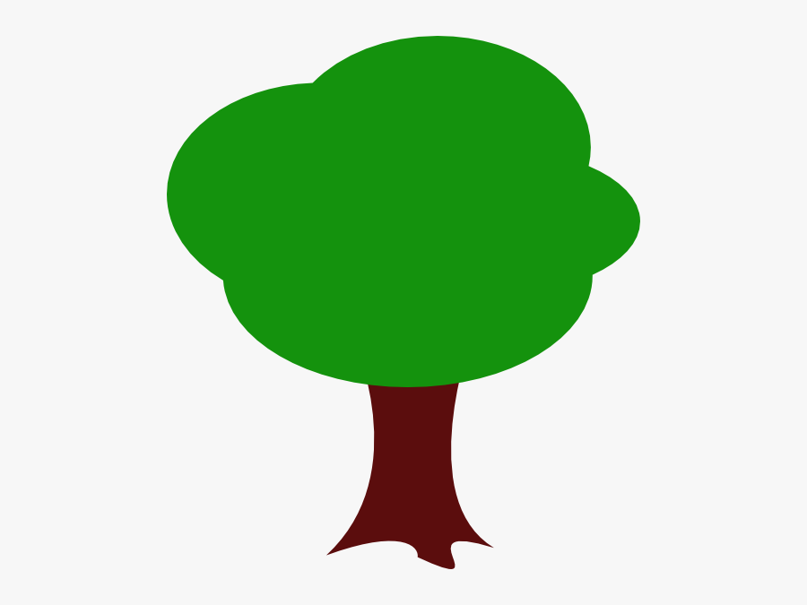 Aerial View Cartoon Tree , Free Transparent Clipart.
