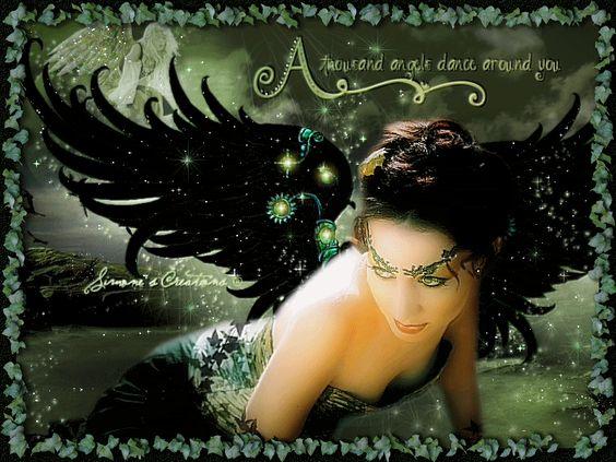 Glitter Fairy Graphics.