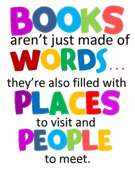Quotes about reading books clipart.