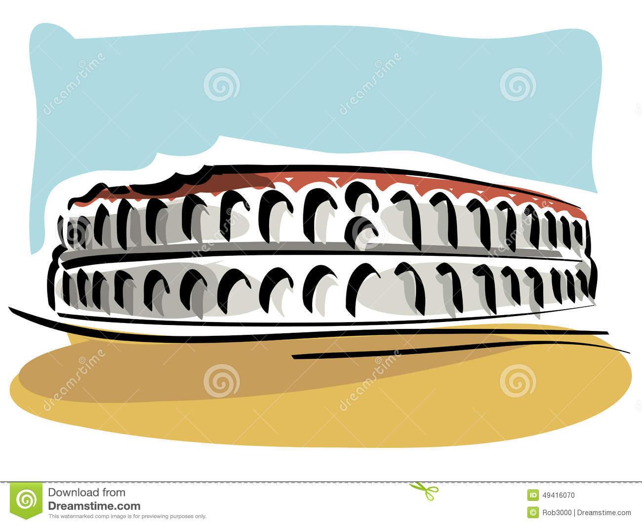 Clip Art Arena Di Verona.