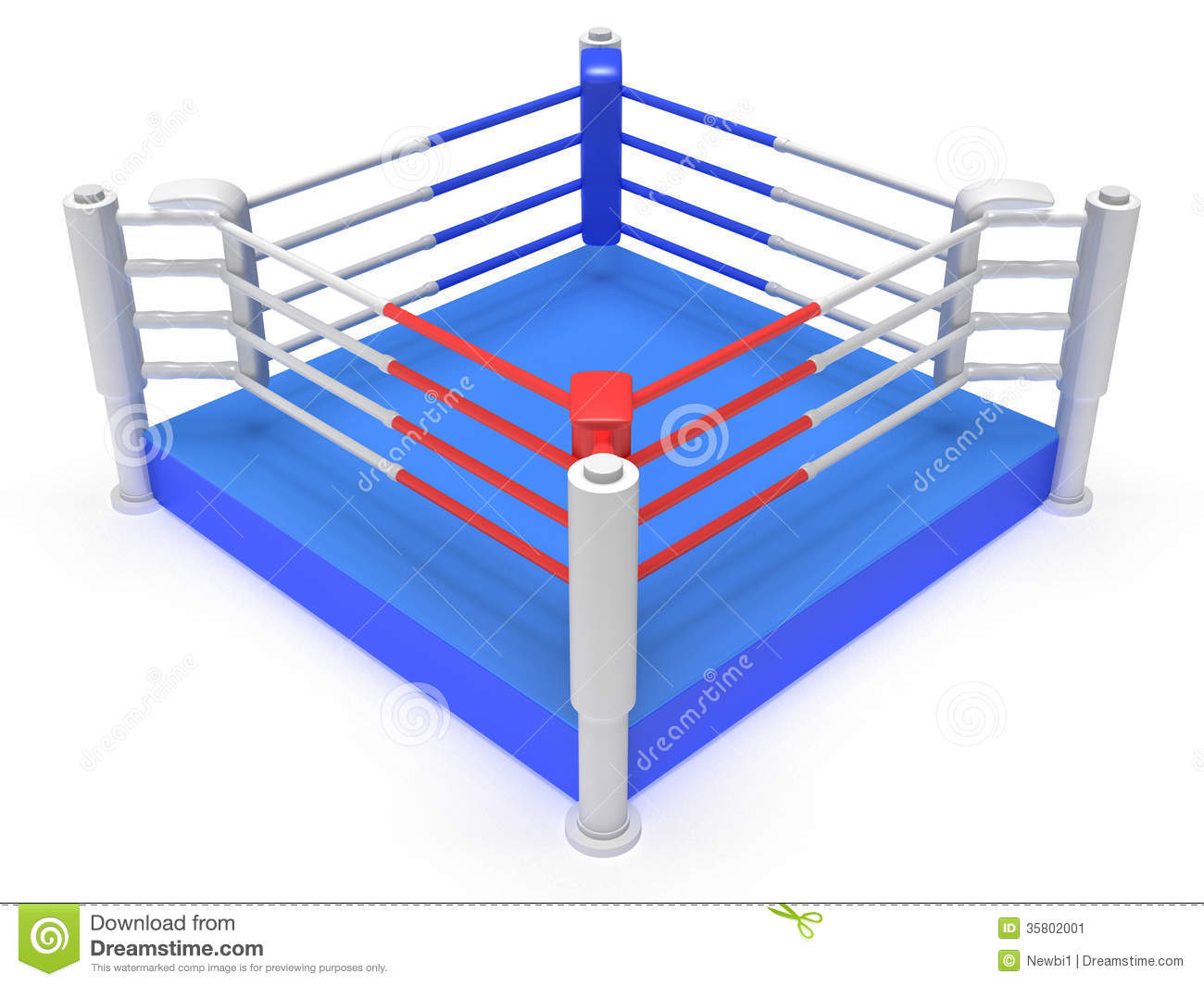 Boxing arena clipart.