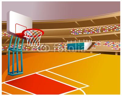 Clip Art Basketball Arena Clipart.