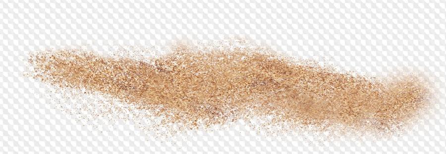 Sea sand.