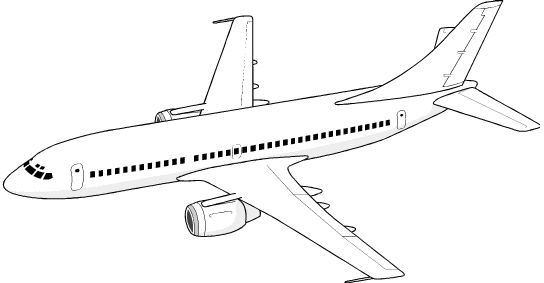 Aeroplanes clipart.