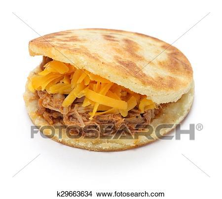 Arepas, venezuelan colombian food Picture.