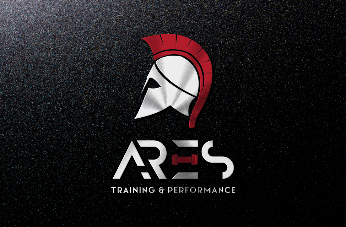 Modern, Masculine, Fitness Logo Design for Ares Training and.