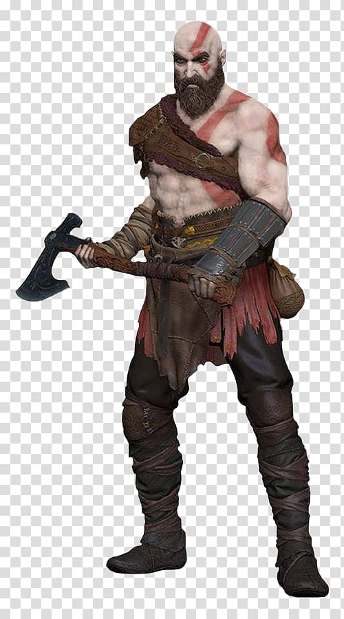 God of War III PlayStation 2 Ares, god of war transparent background.