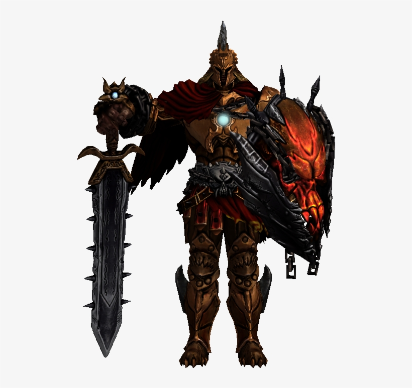 Smite Ares Transparent PNG Image.